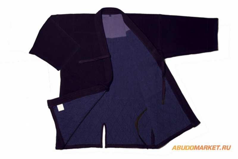 Фото кендоги КГ5, куртка для кендо, индиго, Абудомаркет
