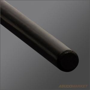 фото дзё для айкидо, тонированный чёрный