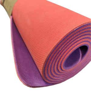 Коврик для йоги из натурального каучука